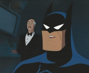 Batman and Alfred