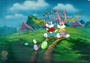 Babs and Buster Easter Hunt
