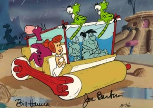 Flintstones Windshield Wiper