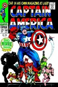 Captain America #100 - Canvas