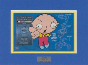 Stewie Character Key