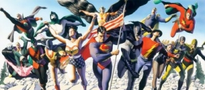 The Justice Society of America: The Golden Age - Canvas
