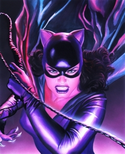Mythology Catwoman - Canvas