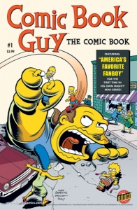 Comic Book Guy The Comic Book #1 - Canvas