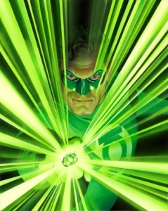 Mythology: Green Lantern Canvas