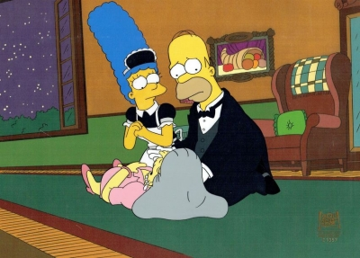 Homer and Marge Simpson 1057