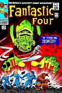 Fantastic Four #49 - Canvas