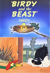 Birdy and The Beast - 2 cels