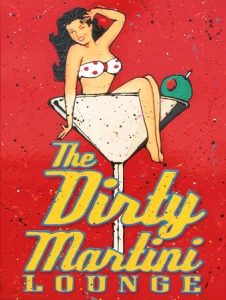 Dirty Martini - Small canvas