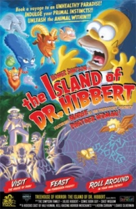 The Island of Dr. Hibbert -(Canvas)