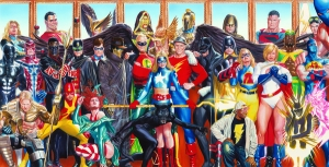 Justice Society - Canvas