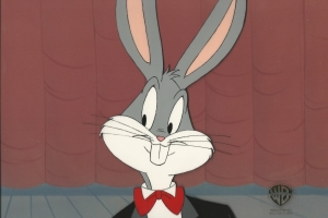 Bugs Bunny in Tux