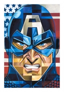 Captain American mini canvas