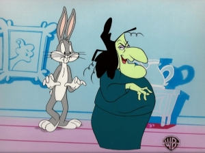 Witch Hazel and Bugs Bunny