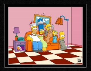 Couch Gag: Chess