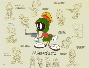Marvin the Martian Model Sheet