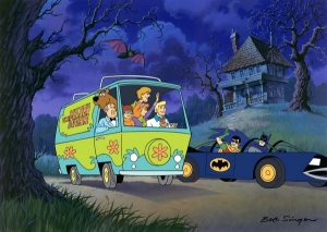 Scooby Doo Meets Batman and Robin