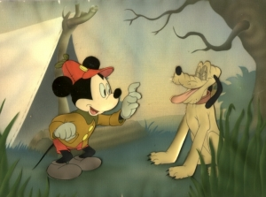 Mickey Mouse and Pluto