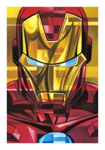 Iron Man mini canvas