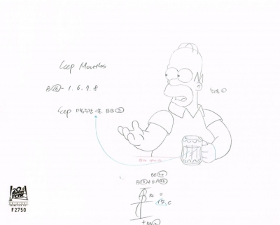 Homer with a Beer