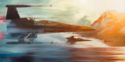 X-Wings of Resistance (Canvas)