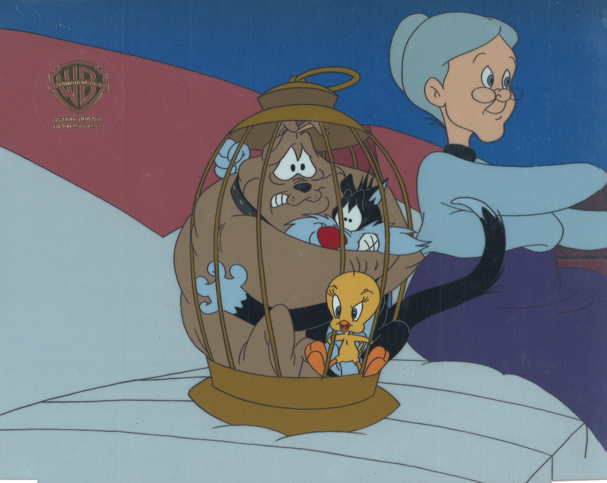 Tweety Sylvester Granny And Spike