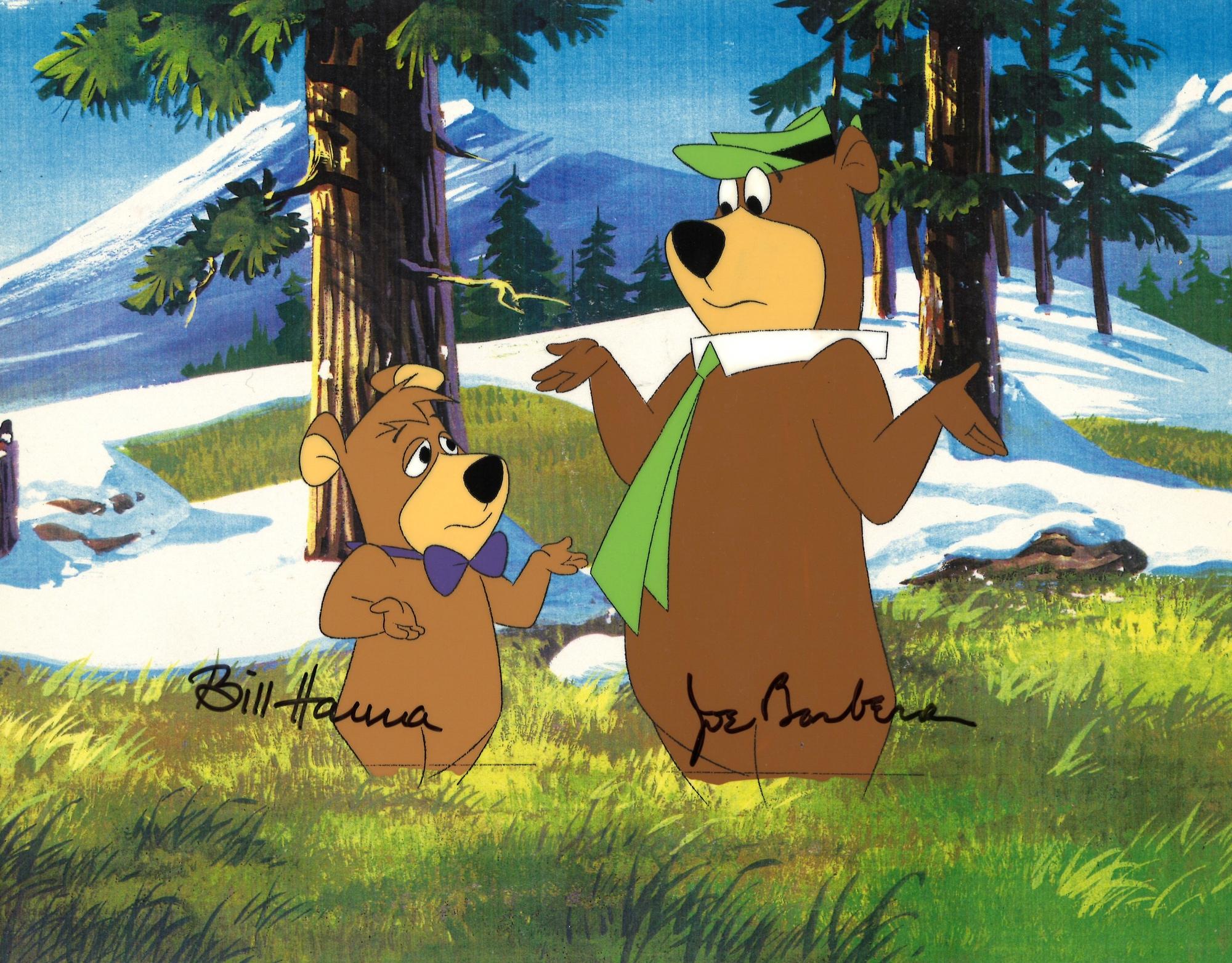 Yogi Bear and Boo Boo 0143