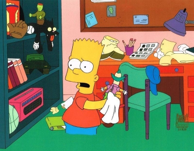 The Simpsons Animation Connection Cartoon Art Cels Cells